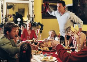 Christmas etiquette fight