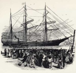 african american dreedom day american colonization society ship