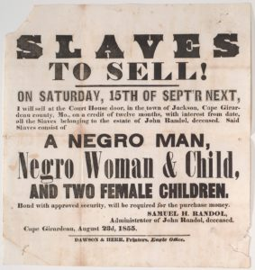 african american freedom day slave sale