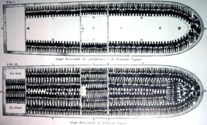 african american freedom day slave ship crowding