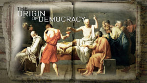 the presidential election origin of democracy