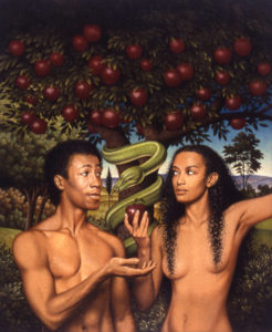 how do you believe in God adam and eve